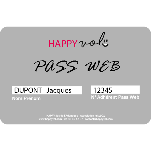 pass web happyvol